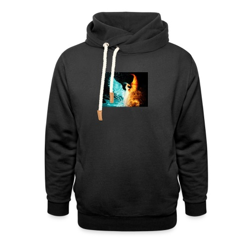 Elemental phoenix - Shawl Collar Hoodie