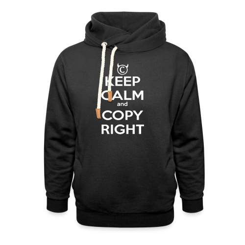 Keep Calm and Copyright - Tank for the individual - Schalkragen Hoodie