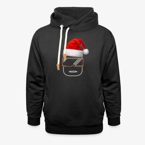 Die Zock Stube - Robot-Head Christmas - Schalkragen Hoodie
