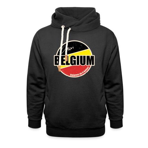 Cmon Belgium - Sjaalkraag hoodie