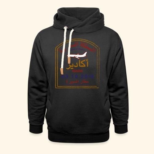 Agadir - Sweat à capuche cache-cou