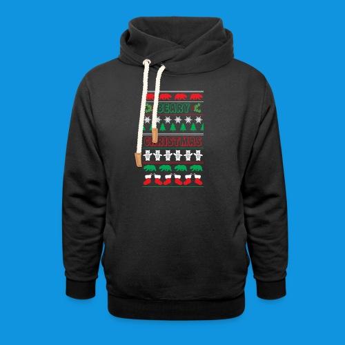 Beary Christmas.png - Shawl Collar Hoodie