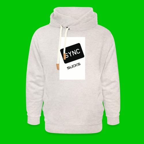 t-shirt-DIETRO_SYNK_SUCKS-jpg - Felpa con colletto alto unisex