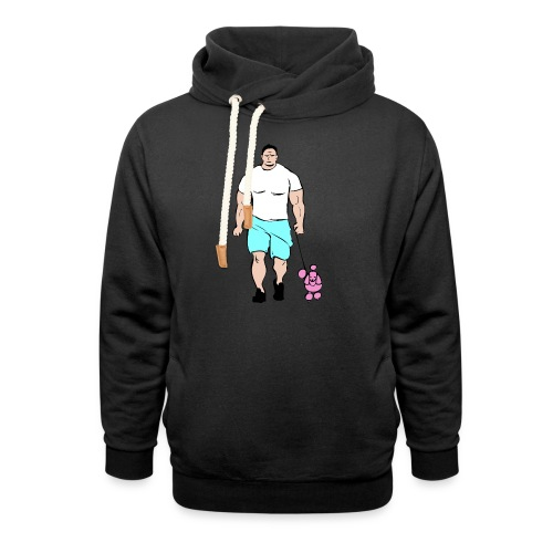 It's a poodle's job! - Unisex Shawl Collar Hoodie