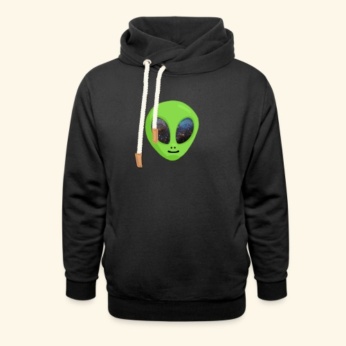 ggggggg - Unisex sjaalkraag hoodie