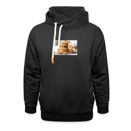 american cookie afdruk/print - Unisex sjaalkraag hoodie