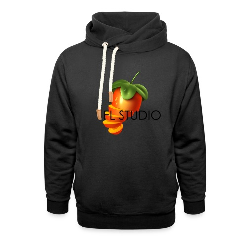 Sliced Sweaty Fruit - Shawl Collar Hoodie