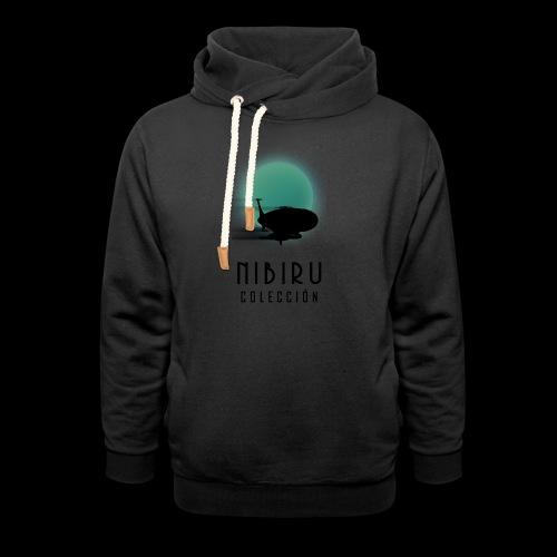 NibiruLogo - Sudadera con capucha y cuello alto