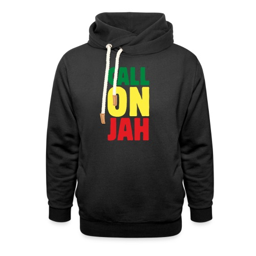 Call on Jah - Jah Rastafari - Reggae Roots - Schalkragen Hoodie