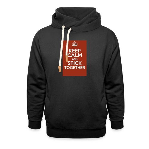 Keep calm! - Shawl Collar Hoodie