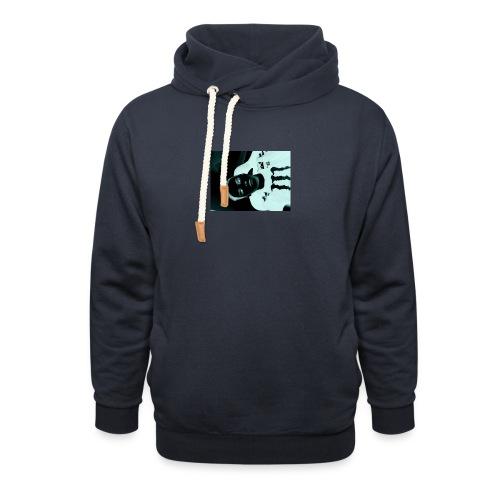 Mikkel sejerup Hansen cover - Unisex hoodie med sjalskrave