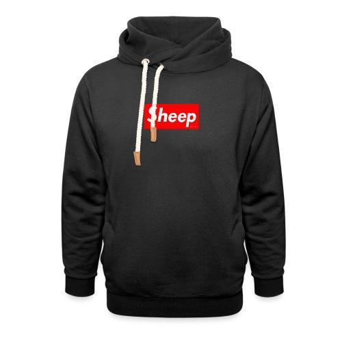 hej - Unisex hoodie med sjalskrave