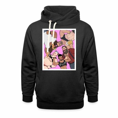 Bear Pile - Unisex Shawl Collar Hoodie