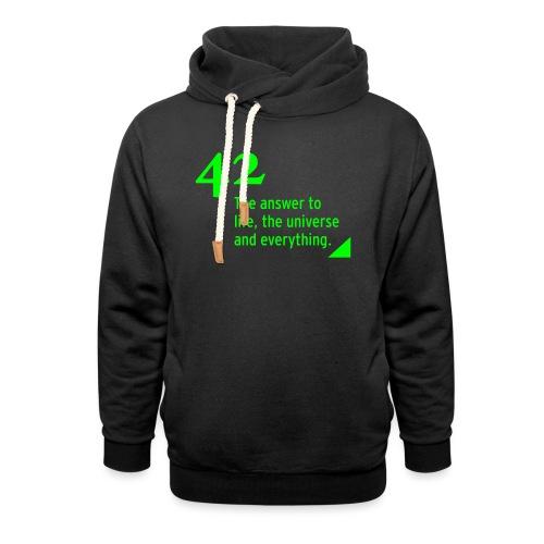 42 - the answer - Schalkragen Hoodie
