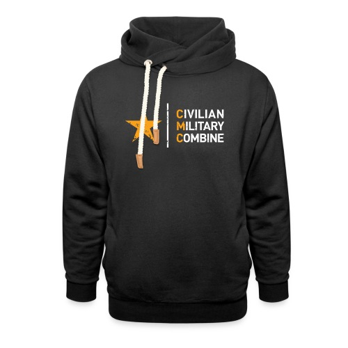 CMC Design - Unisex sjaalkraag hoodie