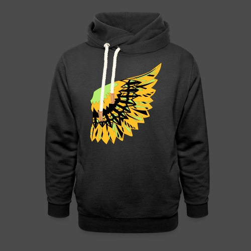 Owl Colour Redraw - Shawl Collar Hoodie