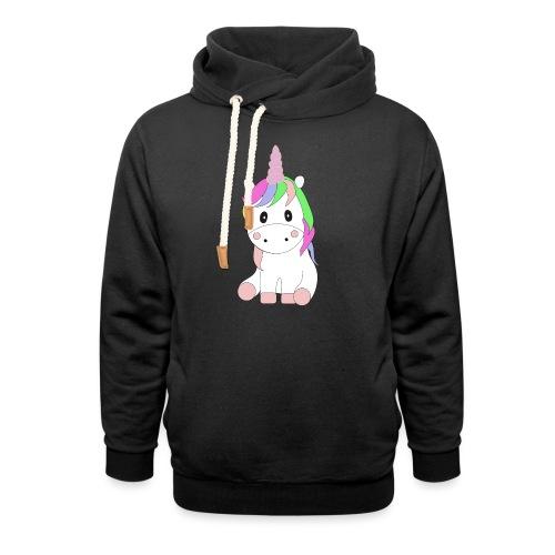Magic Baby Unicorn - Schalkragen Hoodie