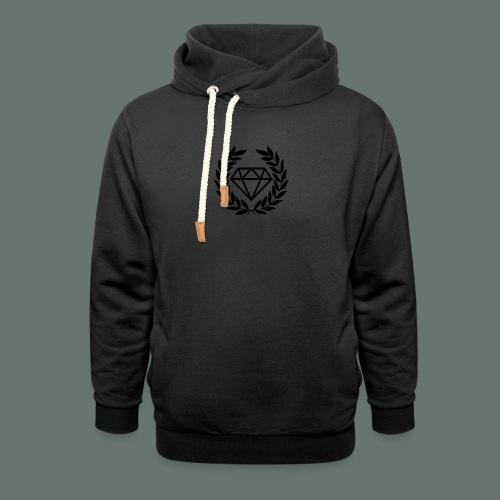 Black diamond Logo - Shawl Collar Hoodie