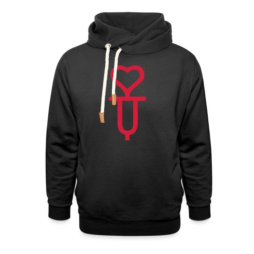 ADDICTED TO LOVE - Unisex Shawl Collar Hoodie