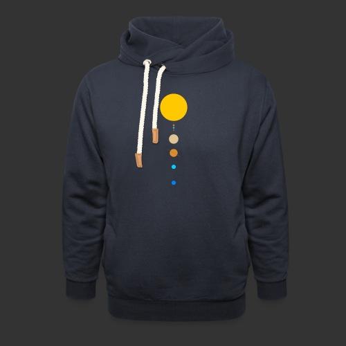 Solar System - Shawl Collar Hoodie