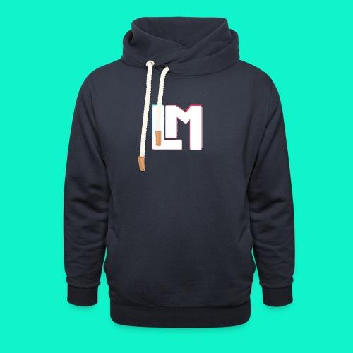 LM - Unisex sjaalkraag hoodie