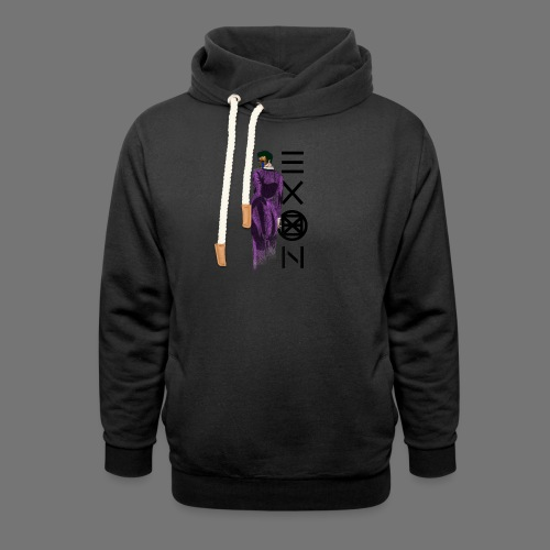 Emotionless Passion Exon - Shawl Collar Hoodie