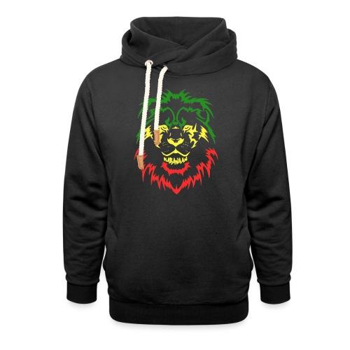 KARAVAAN Lion Reggae - Unisex sjaalkraag hoodie