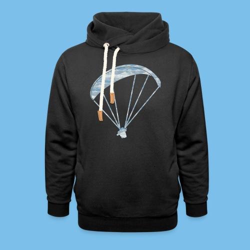Gleitschirm Wolke Geschenk Paragliding - Schalkragen Hoodie