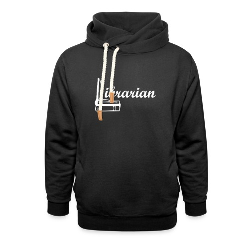 0325 Librarian Librarian Cool design - Shawl Collar Hoodie
