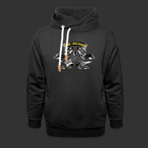 screaming pistons - Sjaalkraag hoodie