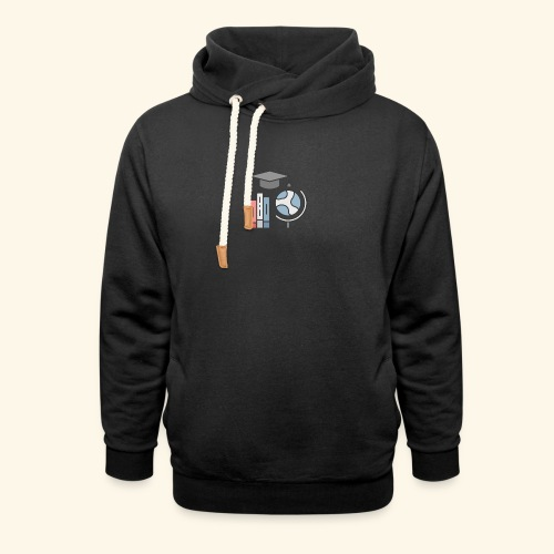teacher knowledge learning University education pr - Hoodie med sjalskrave
