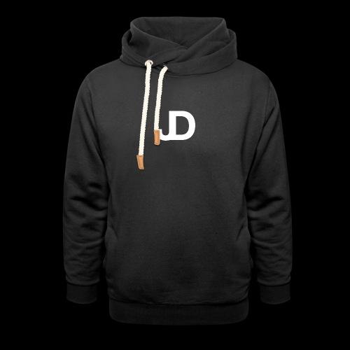 JD logo - Unisex sjaalkraag hoodie