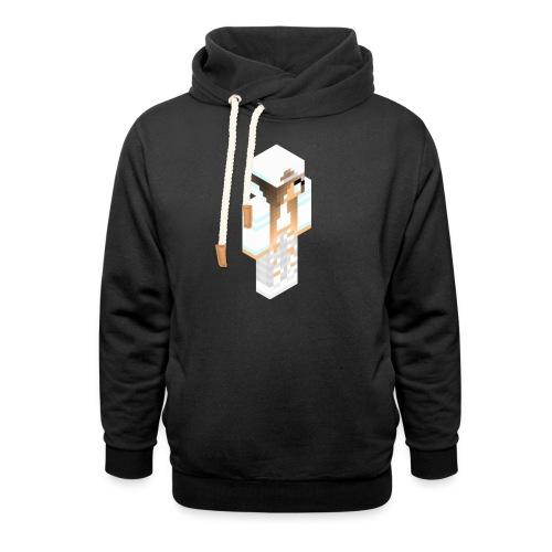 konijntjespower png - Unisex sjaalkraag hoodie