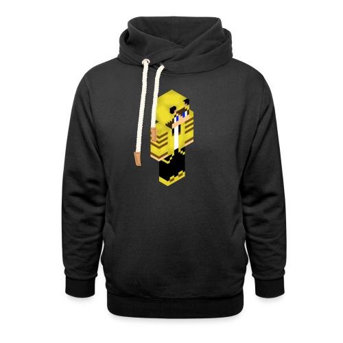 kaaseigenaar png - Unisex sjaalkraag hoodie
