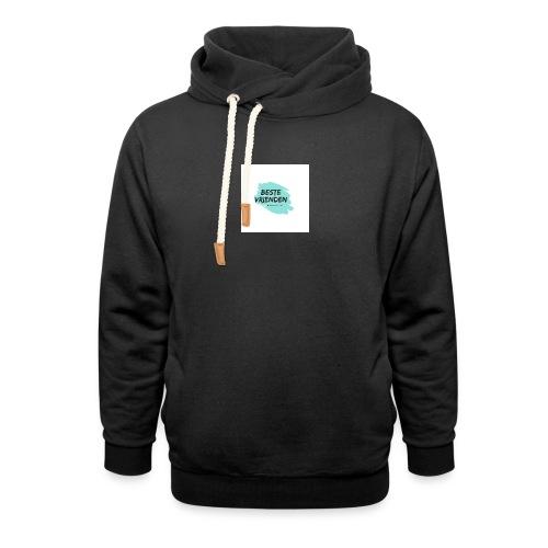 beste vriendeSpace - Unisex sjaalkraag hoodie