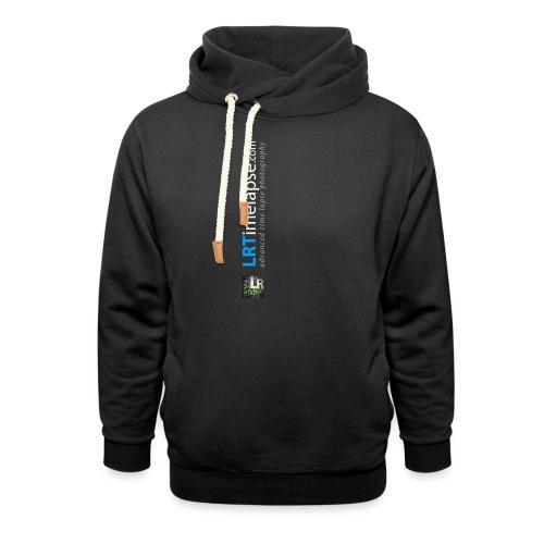 LRTImelapse Shirt Logo Vorne Hoch breiter3 png - Unisex Schalkragen Hoodie
