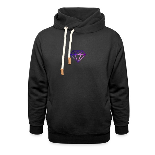 Galaxy Diamonds - Unisex Shawl Collar Hoodie