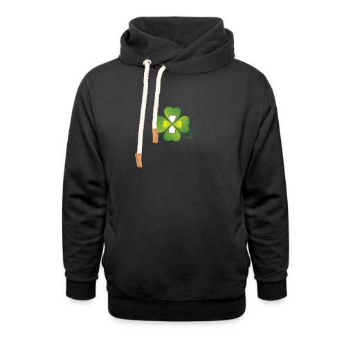 Clover - Symbols of Happiness - Shawl Collar Hoodie