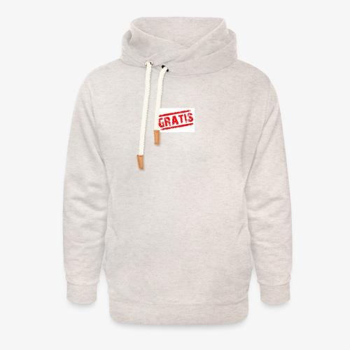 verkopenmetgratis - Unisex sjaalkraag hoodie