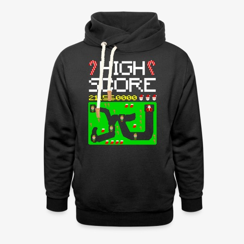 High Score Ugly Xmas - Schalkragen Hoodie