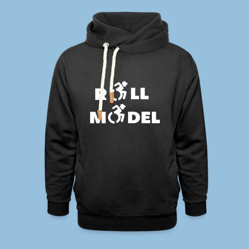 RollModel5 - Sjaalkraag hoodie