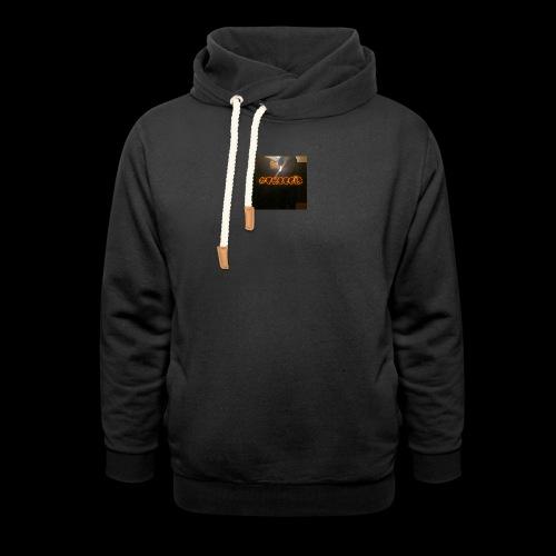 freegia - Unisex hoodie med sjalskrave