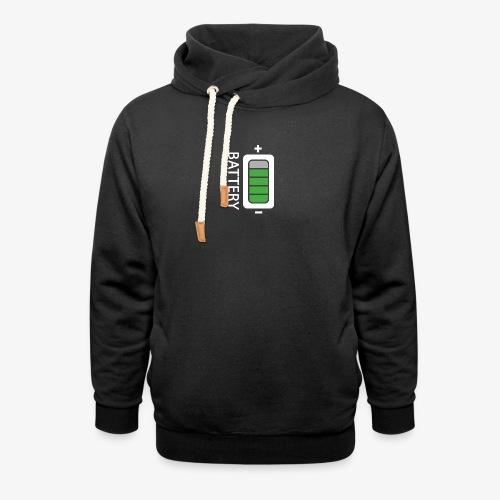 Battery - Felpa con colletto alto unisex