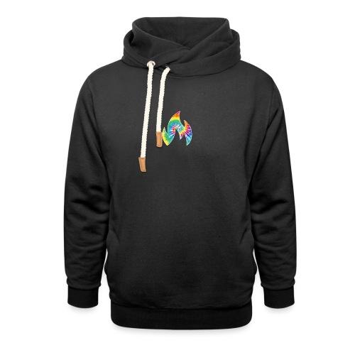 Flaming Logo - Unisex Shawl Collar Hoodie