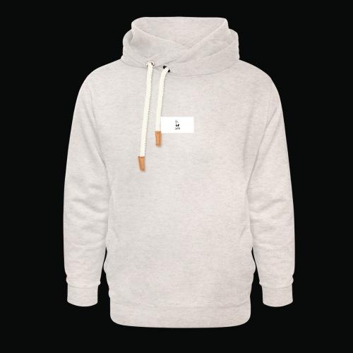 bafti long sleeve tee - Unisex hoodie med sjalskrave