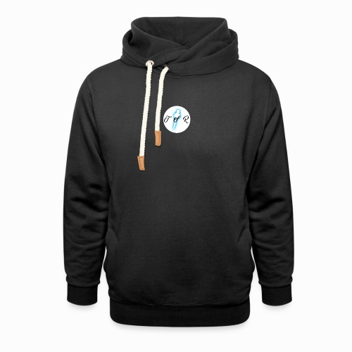 The Scots Review TSR Logo - Unisex Shawl Collar Hoodie