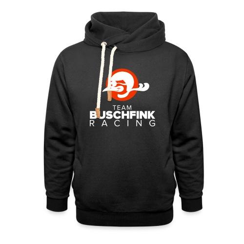 Team Buschfink Logo On Dark - Shawl Collar Hoodie