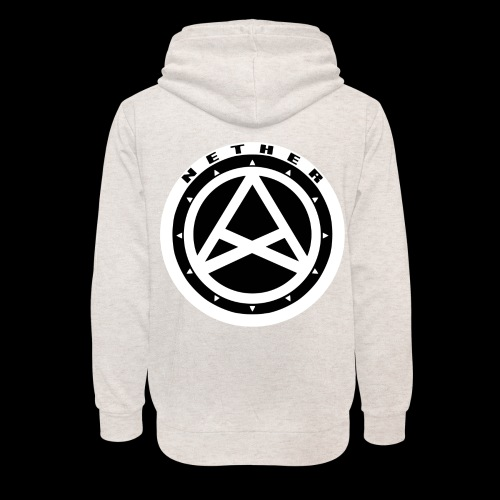 Nether Crew Black\White Hoodie - Felpa con colletto alto unisex