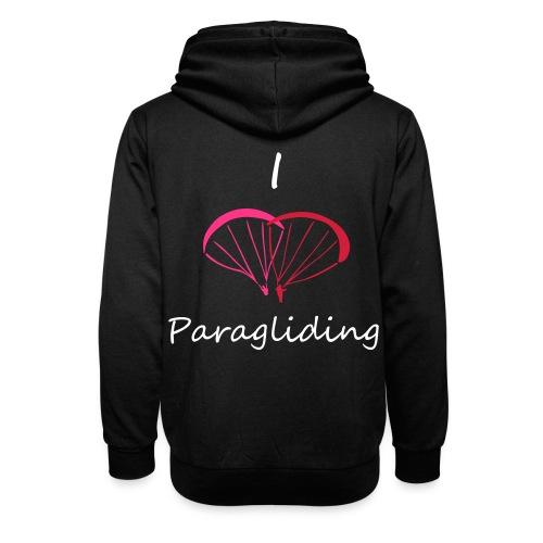 I Love Paragliding V2 - Shawl Collar Hoodie