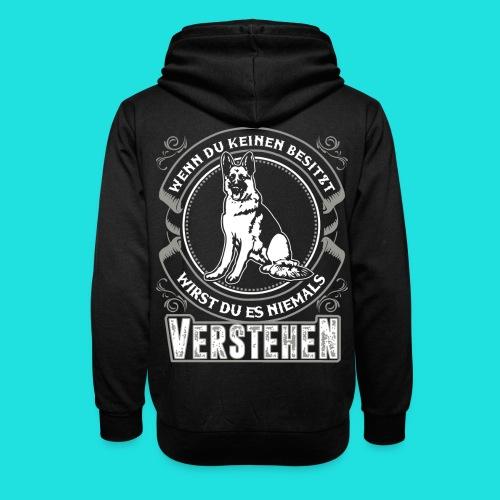 Deutscher Schäferhund - Schalkragen Hoodie